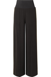 Elizabeth and James Ansley crepe wide-leg pants