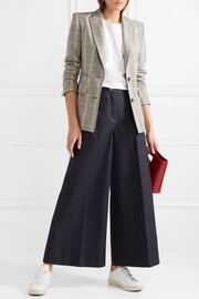 Ace cropped high-rise wide-leg jeans