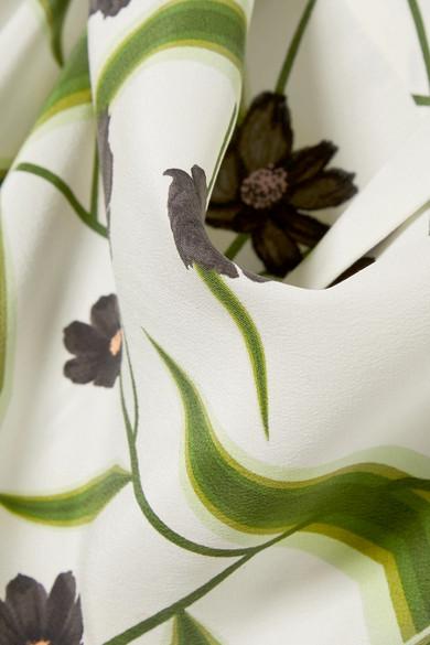 Équipement Chemise Adalyn En Soie Prélavée Avec Imprimé Floral