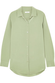 Equipment Essential washed-silk shirt
