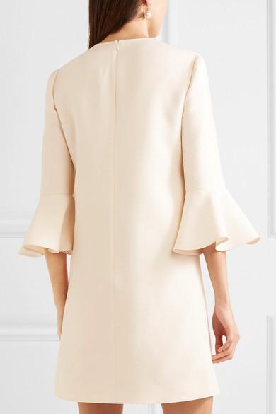 Valentino Minikleid aus Crêpe aus einer Woll-Seidenmischung