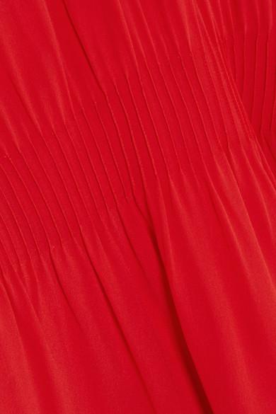 Valentino Minikleid aus Crêpe de Chine aus Seide mit Rollkragen und Biesen Besuchen Neue Wiki Verkauf Online Verkauf Ausgezeichnet Billig Verkauf Am Besten lnvMtq78