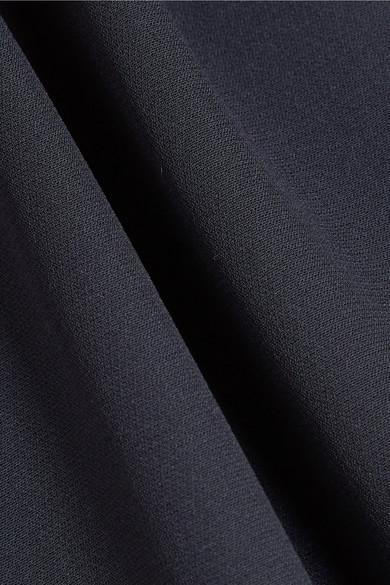 Valentino Robe aus einer Seidenmischung mit Cape-Effekt