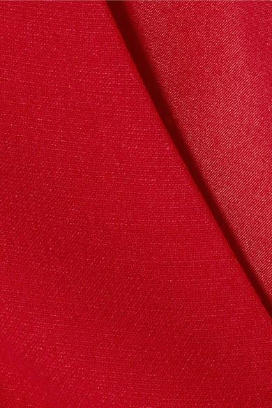 Valentino Robe aus einer Woll-Seidenmischung mit Cut-outs