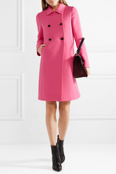 Valentino Donna Double-breasted Wool Coat