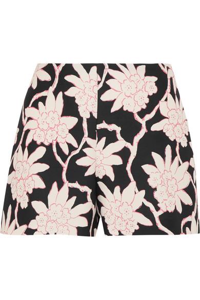 Valentino Bedrucke Shorts aus einer Woll-Seidenmischung Speichern Günstig Online HuotxoDWNj
