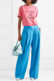Valentino Pink is Punk printed cotton-jersey T-shirt