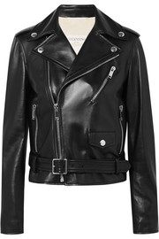 Valentino The Rockstud leather biker jacket