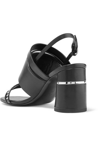 3.1 Phillip Lim Drum Slingback-Sandalen aus Leder mit Nieten Rabatt Online-Shopping Großhandel Qualität Steckdose Reihenfolge Bester Verkauf Zum Verkauf zrgIX9