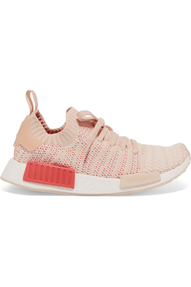464826e03a87c0 adidas Originals. NMD R1 rubber-trimmed Primeknit sneakers