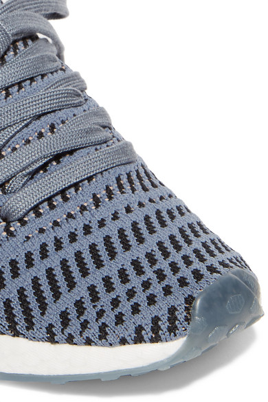 d8455f9c3ffb5 adidas Originals. NMD R1 rubber-trimmed Primeknit sneakers.  88.40. Zoom In