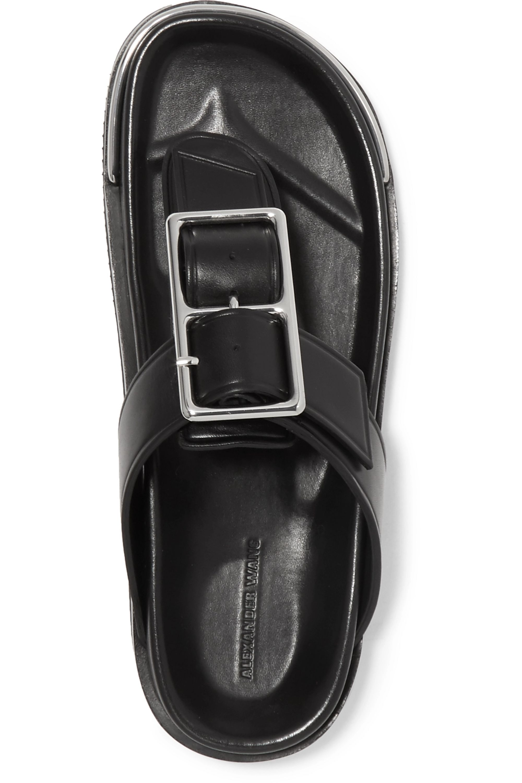 Alexander Wang Corin buckle-embellished leather sandals
