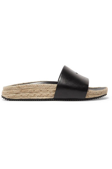Sale Latest Alexander Wang Embellished Leather Espadrilles Outlet Cheap Quality DDCMxI1s