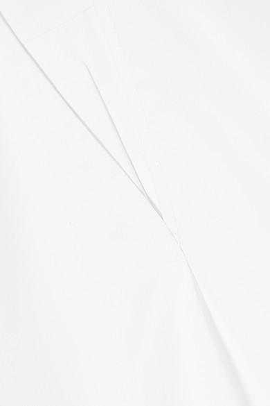 Totême Touros Oversized-Bluse aus Baumwollpopeline