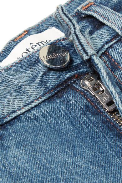 Totême Halbhohe Jeans mit geradem Bein