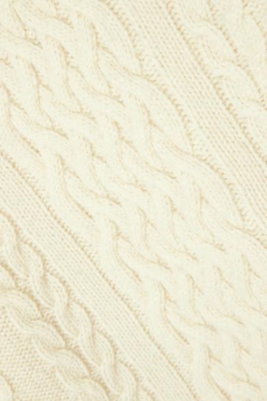 Totême Bergeme Zopfstrickpullover aus einer Wollmischung