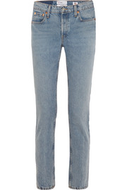 + Cindy Crawford The Crawford high-rise straight-leg jeans