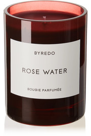 Rose Water scented candle, 240g