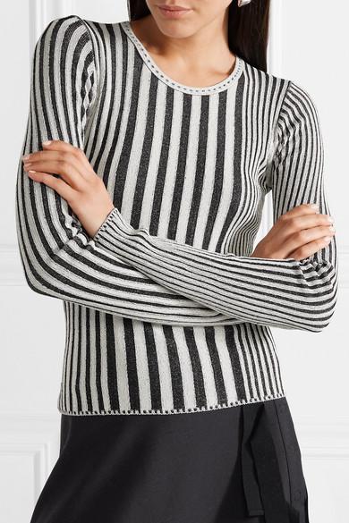 Altuzarra Seine Pullover aus geripptem Stretch-Strick