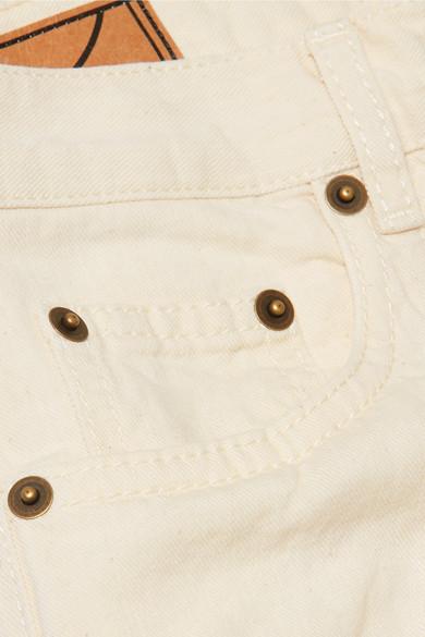 McQ Jeans mit hoch McQueen verk眉rzte Atami sitzende Bundfalten Alexander rxqCYr
