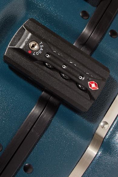 Ookonn Hartschalenkoffer mit Lederbesatz Günstig Kaufen Visum Zahlung HIeXIXJ