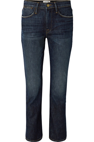 FRAME Le High Jeans mit geradem Bein