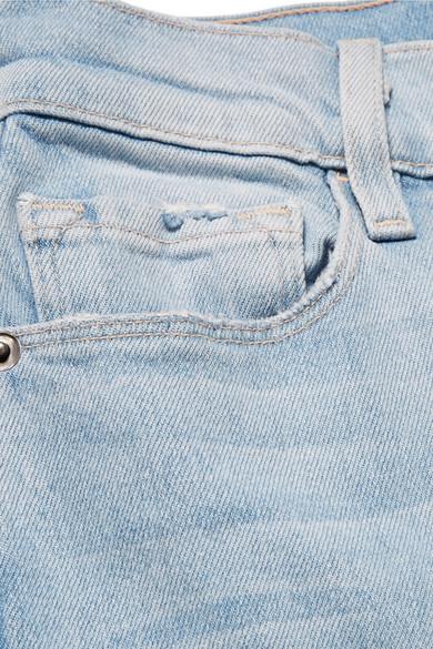 FRAME Le Palazzo hoch sitzende Jeans mit weitem Bein