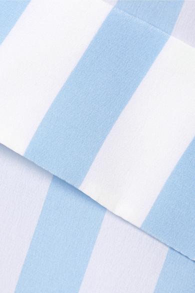 FRAME Gestreiftes Hemd aus Crêpe de Chine aus Seide