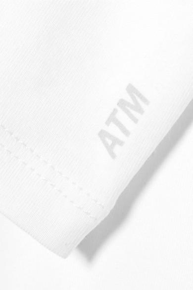 ATM Anthony Thomas Melillo Oberteil aus Pima-Baumwoll-Jersey mit Stretch-Anteil