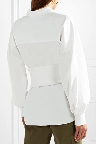 Tibi Mehrlagiges Hemd aus Baumwollpopeline