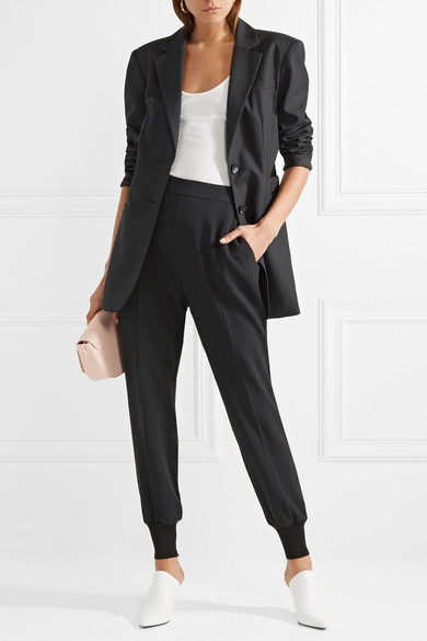 Tibi Wollblazer in Oversized-Passform mit Cut-outs
