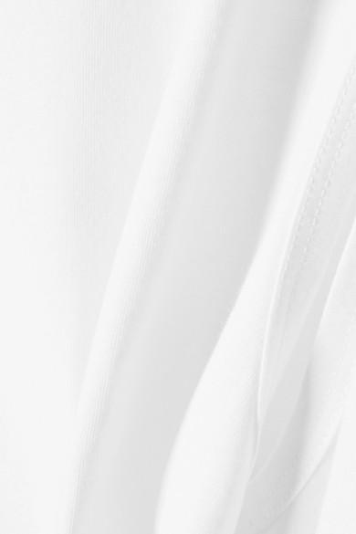 Tibi Kapuzenoberteil aus Baumwoll-Jersey