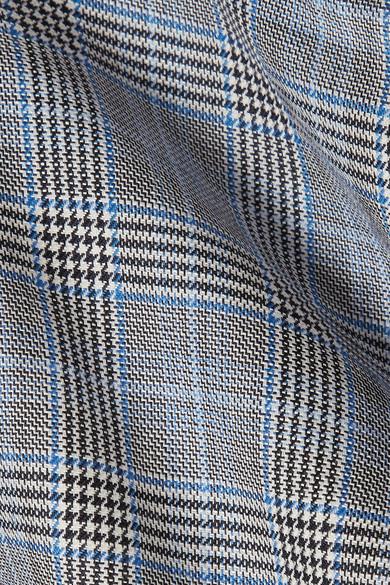 Tibi Cooper Shorts aus einer Woll-Seidenmischung mit Glencheck-Muster Freies Verschiffen 2018 Unisex vOPUjGp1X6