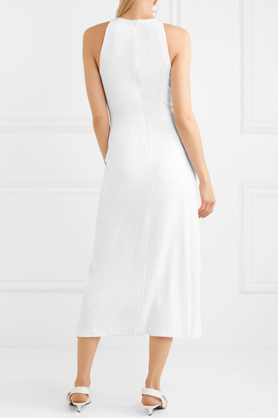 Dion Lee Midikleid aus Jersey mit Twist-Detail