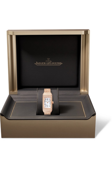 f07b6a73b79 Jaeger-LeCoultre. Reverso One Duetto rose gold diamond watch. £56