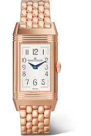 Reverso One Duetto Moon rose gold diamond watch