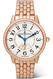 Rendez-Vous Night & Day 34 mm Uhr aus Roségold mit Diamanten