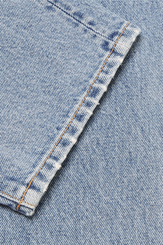 GOLDSIGN Benefit high-rise straight-leg jeans