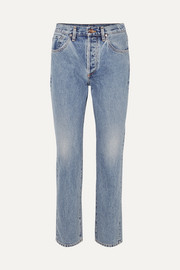 Goldsign Benefit high-rise straight-leg jeans