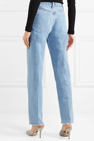 f9fdb04b Goldsign | The Classic Fit high-rise straight-leg jeans | NET-A ...