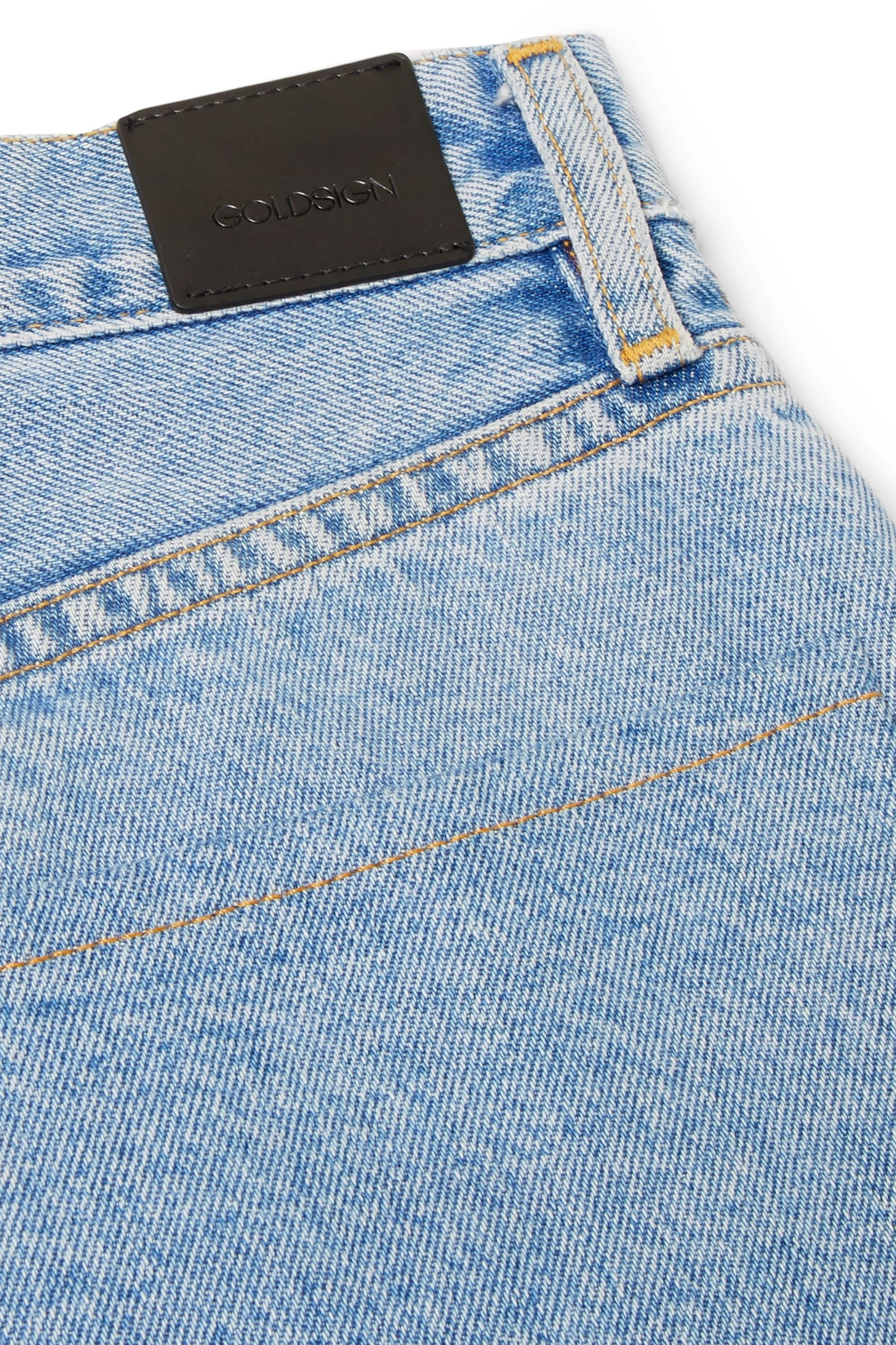 GOLDSIGN The Classic Fit high-rise straight-leg jeans