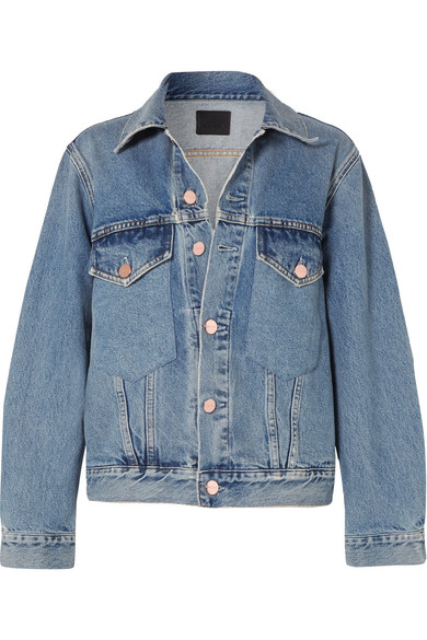 GOLDSIGN The Morton Denim Jacket in Mid Denim