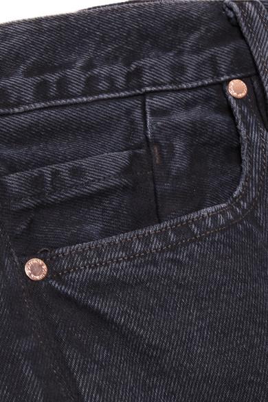 Goldsign The Low Slung verkürzte, halbhohe Jeans mit geradem Bein