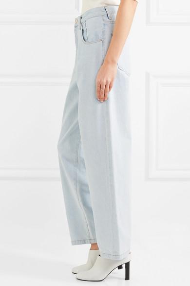 Goldsign The Upsize halbhohe Jeans mit weitem Bein Günstiger Preis Niedrig Versandgebühr Manchester Großer Verkauf Günstig Online 2018 Auslaß Billige Versorgung Günstig Kaufen Amazon XCfap