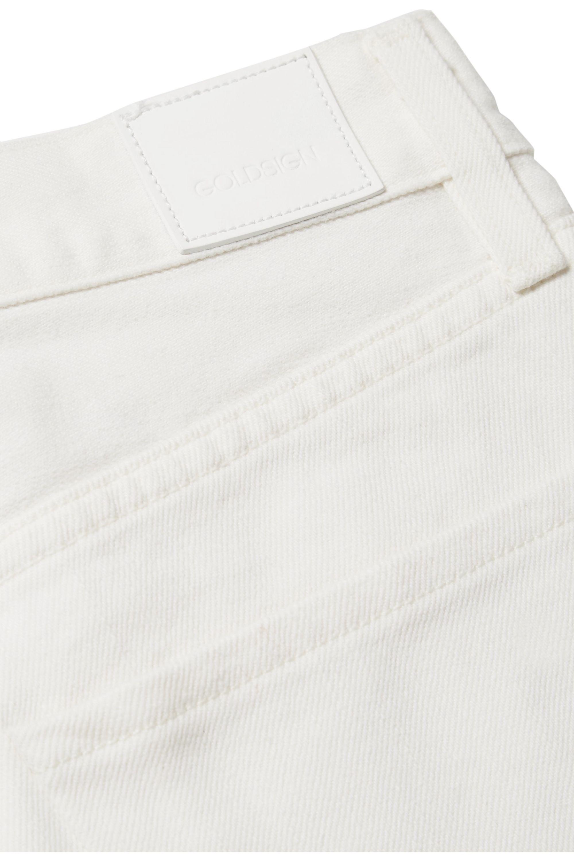 GOLDSIGN Benefit 高腰直筒牛仔裤