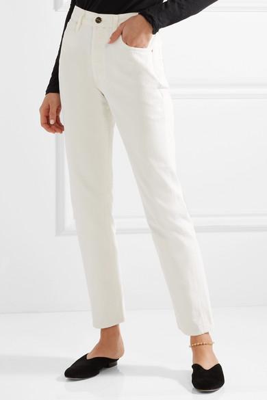 Goldsign Benefit hoch sitzende Jeans mit geradem Bein