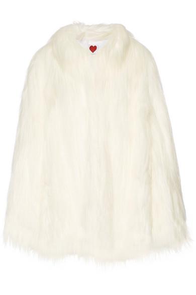 House of Fluff Yeti wandelbarer Oversized-Mantel aus Faux Fur