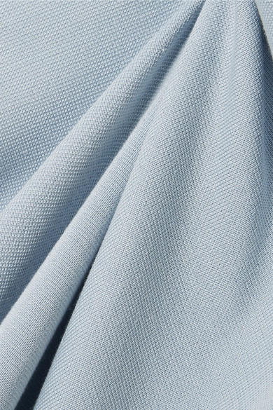 Rosetta Getty Jersey-Pullover aus einer Seiden-Kaschmirmischung mit Cut-out