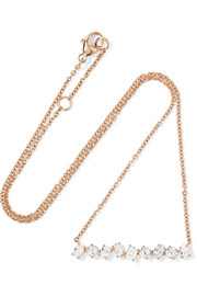 Kimberly McDonald 18-karat rose gold diamond necklace
