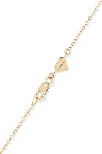 Mama Mia 14-karat Gold Necklace - one size Alison Lou udEQ6l